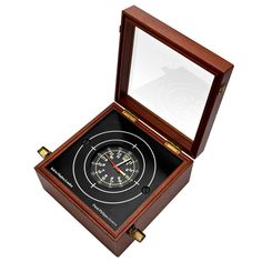 Patek Philippe Marine Chronometer Clock   Retailed by Kelvin Hughes, London