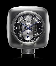 Jaeger Atmos clock.